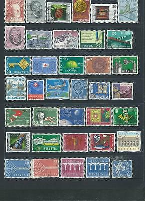 Switzerland Lot 2 good range of stamps as per scan [1149] REDUCED