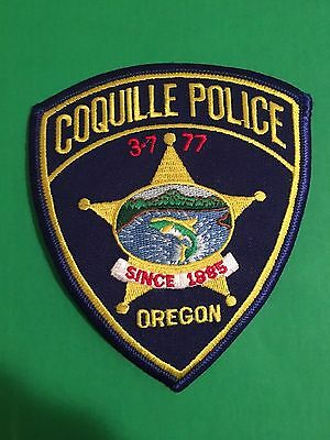 Coquille Oregon Police Shoulder Patch    L@@k At My Patch Store