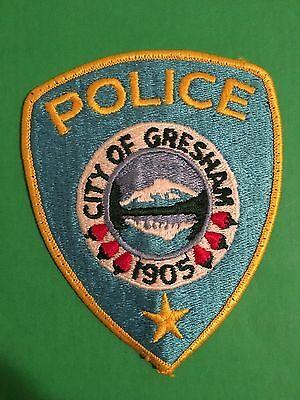Gresham  Oregon Police Shoulder Patch   Used