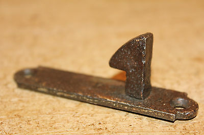 Vintage Iron Receiver/Keep for Antique Iron Latch~Plank Door~Gate~