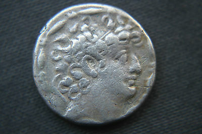 ANCIENT LARGE SILVER COIN TETRADRACHM 4th century BC