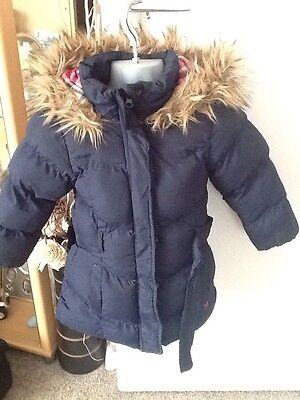 Lovely Young Dimension Hooded Coat Age 3-4 Years