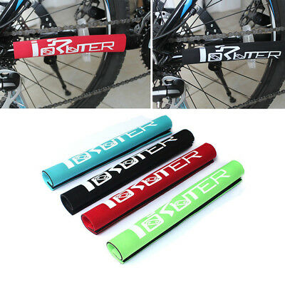 Neoprene Mountain Bike MTB Bicycle Chain Stay Guard Protector Rear Frame Cover