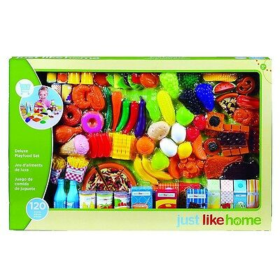 Just Like Home - Super Play Food Set - 120 Pieces