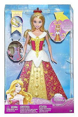 Disney Princess Magic Dress Sleeping Beauty Aurora Doll
