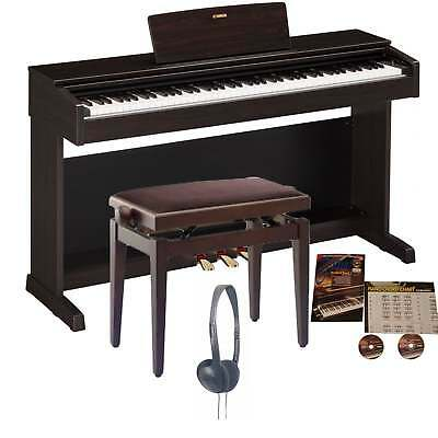 Yamaha YDP-143 Arius Digital Piano Rosewood Bundle