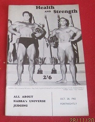 Vintage Health And Strength Magazine   October 28,  1965