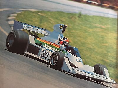 "POSTER Copersucor #30 Wilson Fittipauldi Argentina 1975 Grand Prix  16"" x 22"""