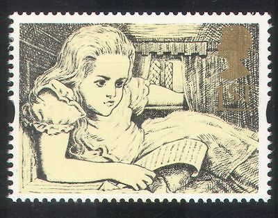 GB 1994 Greetings/Alice in Wonderland/Books/Stories/Literature 1v (b6283a)