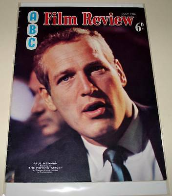 ABC FILM REVIEW MAGAZINE July 1966   VG/FN    PAUL NEWMAN Cover