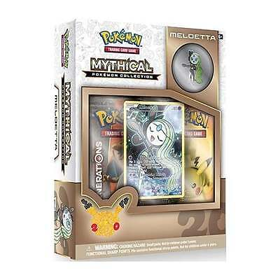 POKEMON MYTHICAL COLLECTION * Meloetta [Released December]
