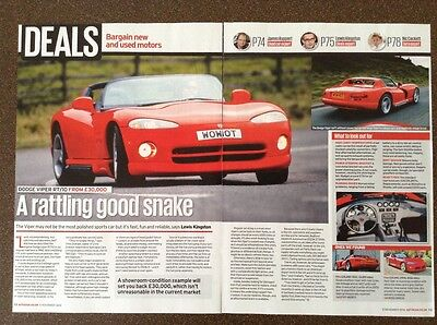 Dodge Viper RT/10 - Classic Buying Guide Article