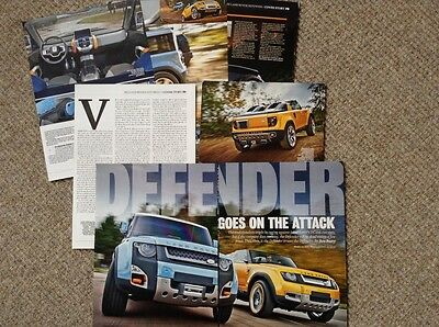 Land Rover Defender Concepts - magazine article