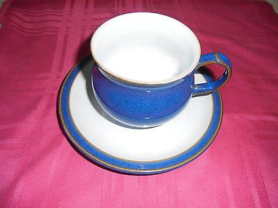 Denby Imperial Blue - Cup &  Saucer