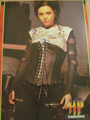 Evanescence, Amy Lee, Full Page Pinup