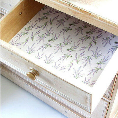The Master Herbalist Five Lavender Scented Drawer Liner New England Paper Liners