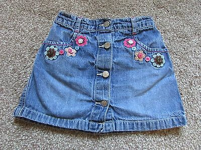 Cute George girls age 4-5 years denim skirt - Very good condition