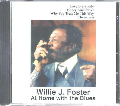 "harmonica WILLIE FOSTER     "" At Home With the Blues"""