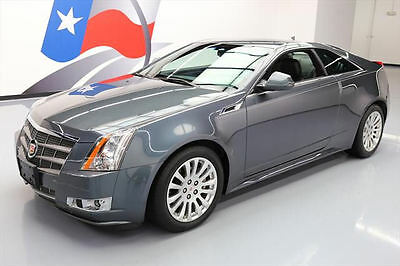 2011 Cadillac CTS Performance Coupe 2-Door 2011 CADILLAC CTS 3.6L PERFORMANCE COUPE REAR CAM 11K #115219 Texas Direct Auto