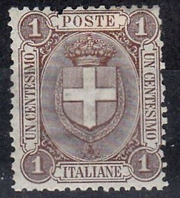 Italy 1891-97 1 cent Brown MM