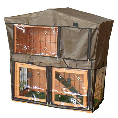 Charles Bentley Deluxe Guinea Pig Rabbit Hutch Cover  Bentley Pet/Hutch.03 Cage
