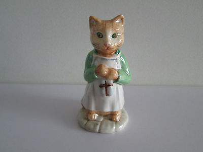 *wow* Rare Beswick Beatrix Potter China Figure Ginger Cat 1976 Great Condition