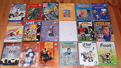Lot de 18 bandes dessinées Lot N2