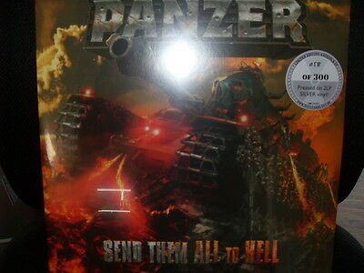 The German Panzer - Send Them All To Hell - 2 LPs - SILVER VINYL - neu & ovp