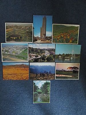 10 Colour Postcards of South Africa. 1970's.