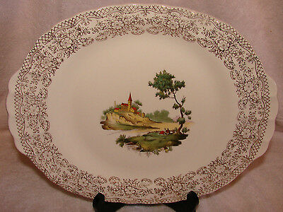 "American Limoges Chateau France Small Platter 11"" Mint NOS"