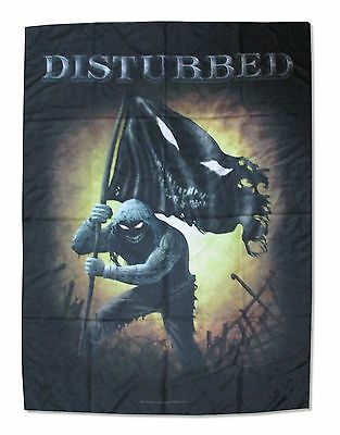 Disturbed Face Plant Nylon Wall Flag Fabric Poster New Official Rock Music
