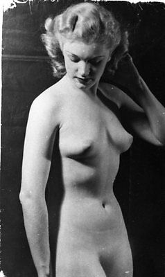 LOT 862 Vtg 1940s Nude Erotic Pin-Up Photograph ORIGINAL 35mm NEGATIVE