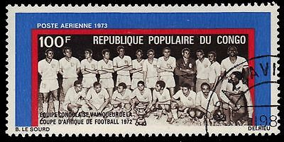 P.R. CONGO C141 (Mi351) - African Cup Football Championships (pf45251)