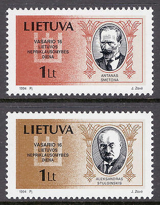 LITHUANIA 1994 stamps National Day Politicians um (NH) mint