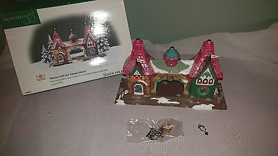 Dept. 56 WELCOME TO ELF LAND GATEWAY ENTRANCE. NOrth Pole series