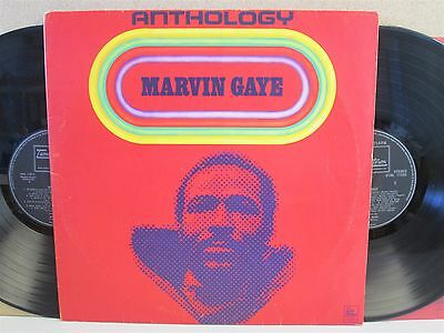 MARVIN GAYE- The Anthology 2-LP (Motown Vinyl) Best of/Greatest Hits Soul 60s