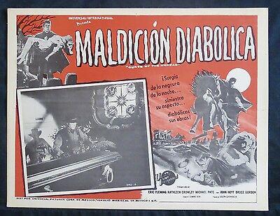 Curse Of The Undead Michael Pate Eric Fleming N Mint Lobby Card 1959