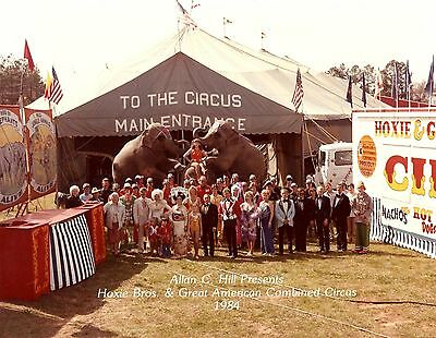 1984 - Hoxie Bros & Great American Circus - Cast & Crew