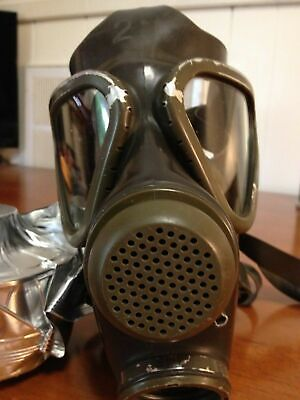 New German M65 Drager Military Gas Mask Respirator Unissued (no filter)Authentic