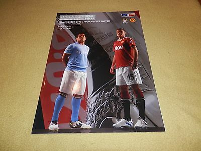 Manchester United v Manchester City - FA Cup Semi-Final at Wembley in 2011