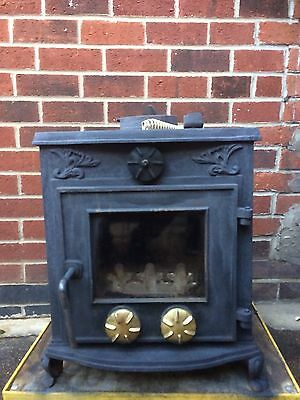 Multi fuel wood burning stove Log Burner