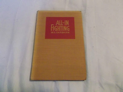 all in fighting  rifle section captain p.n.walbridge 1942  used vintage