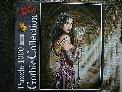 PUZZLE (1000 T.) THE NAME OF THE ROSE (Clementoni) GOTHIC Coll. (Alchemy Carta)