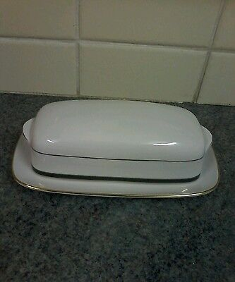 Boots Hanover Green Butter Dish Perfect