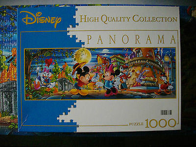 PUZZLE Panorama (1000 T.) MICKEY MOUSE / MICKY MAUS (Walt Disney) Clementoni