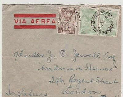 Argentina Air Mail covers to Great Britain 1932