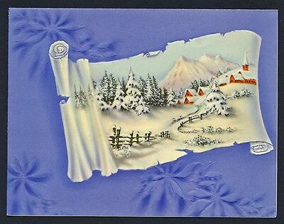 UNITED STATES OF AMERICA 1939 OLD CHRISTMAS CARD Used USA #a155