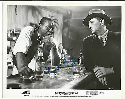 "Terrific Robert Mitchum ""farewell My Lovely"" Hand-Signed Photo"