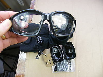 British army ESS Advancer Goggles..with spare lenses..lot X9