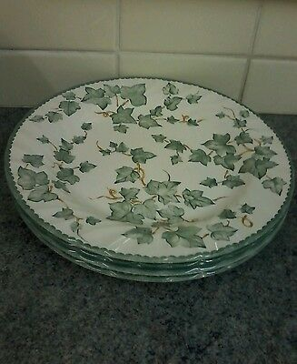 Bhs Country Vine 10.5Ins Dinner Plates X 4 Lovely